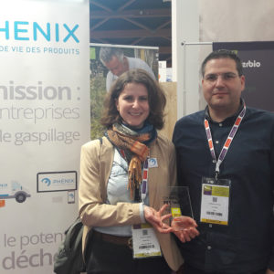 Alterbio et Phenix remportent le Prix « Coup de cœur du public » au Challenge FEL'innov 2019 du medFEL avec une solution Anti-Gaspi pour une Bio porteuse de sens et éthique.